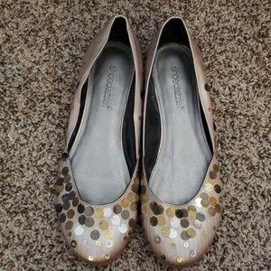 Shoedazzle size 10 NWOT flats